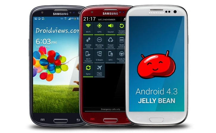 galaxy android 4.3