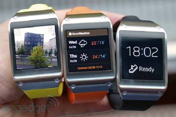 Samsung Galaxy Gear applications
