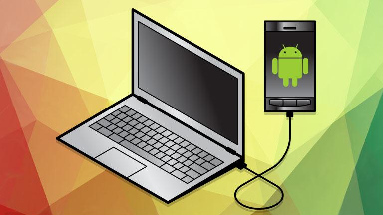 smartphone PC USB