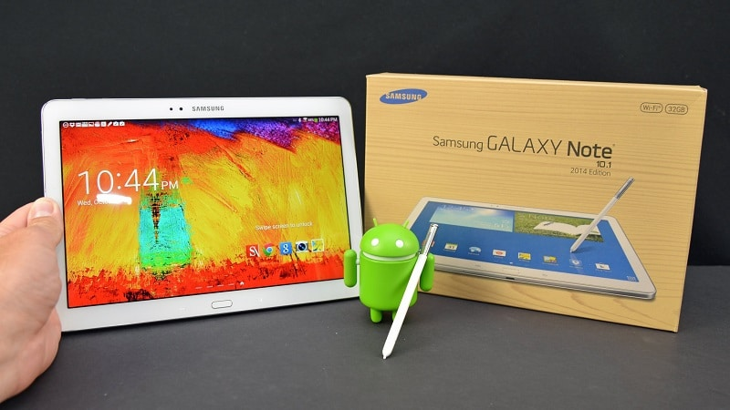 test Galaxy Note 10.1 Edition 2014