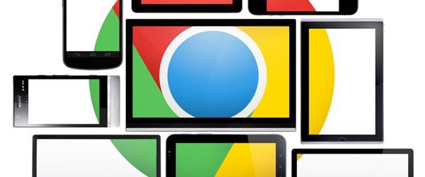 Chrome dans le comparatif de navigateurs web
