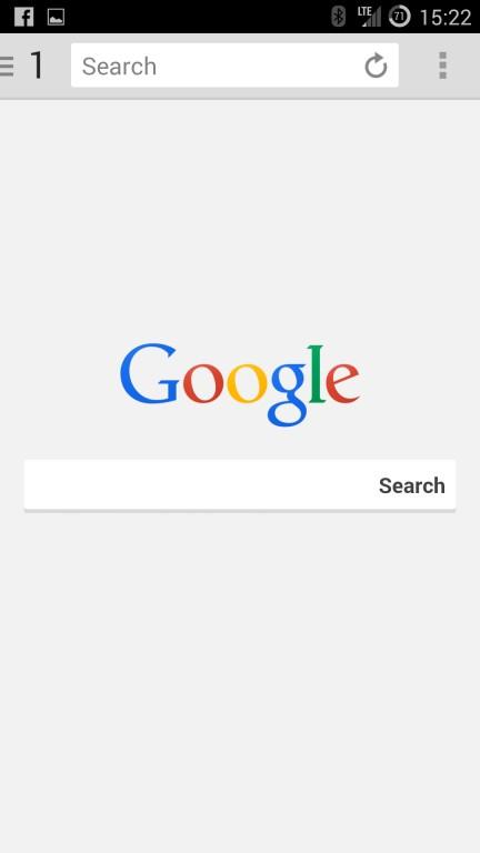 Comparatif de navigateurs Internet Android