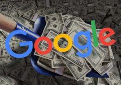 google fait 1 milliard de benefices chaque mois