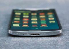 samsung galaxy round premier smartphone ecran incurve
