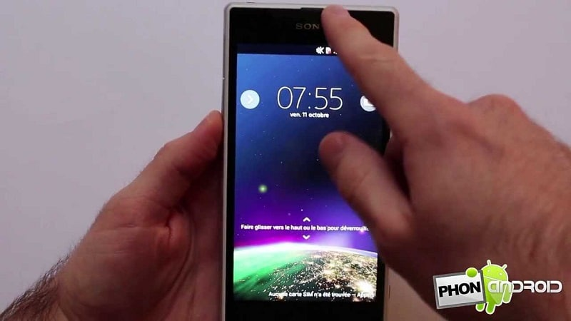 test sony xperia z1