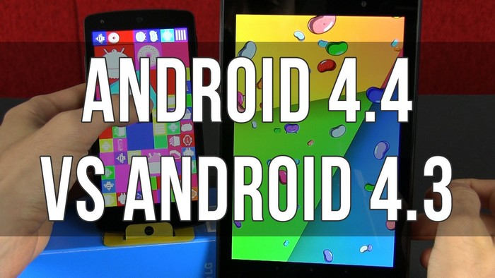 Android 4.4 vs Android 4.3
