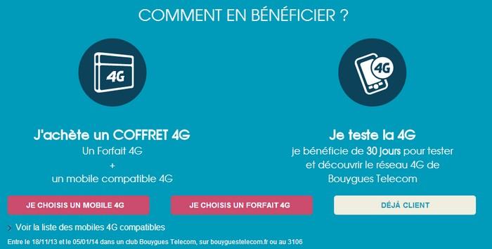 bouygue offre 4g