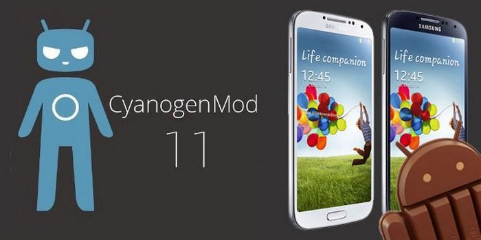 cyanogenmod 11 samsung galaxy s4