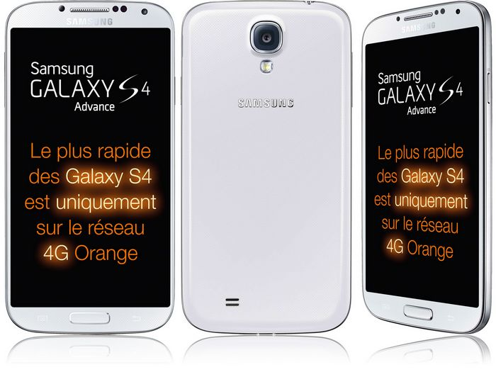 galaxy s4 advance orange
