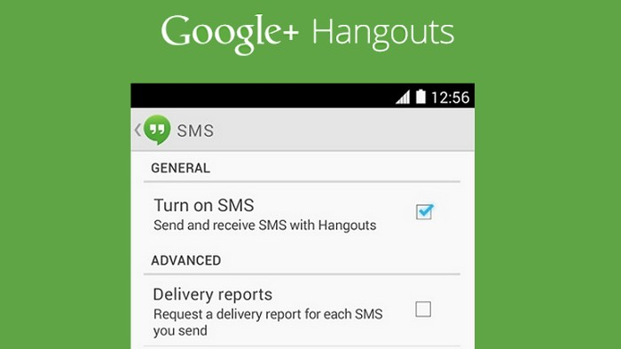 hangouts sms 2.0