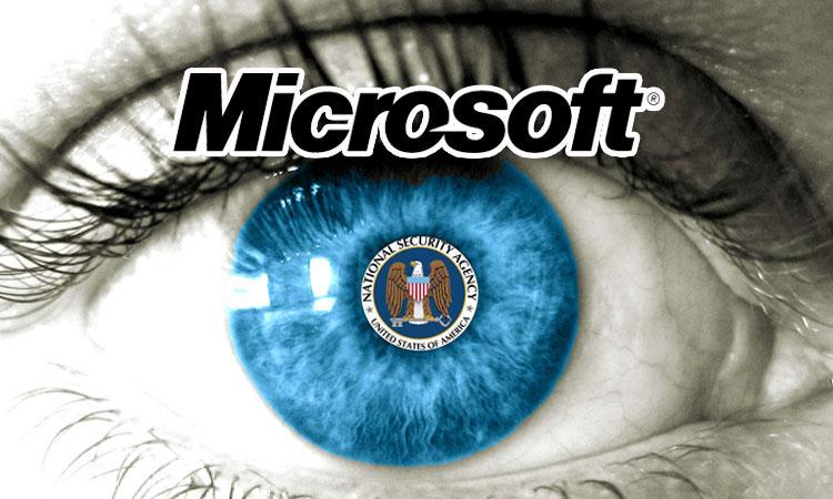 microsoft nsa espionnage