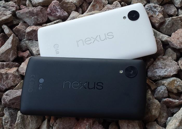nexus 5 blanc vs nexus 5 noir