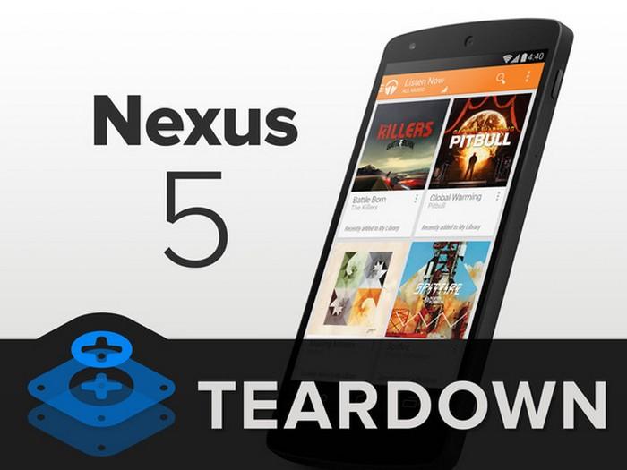 nexus 5 demontage