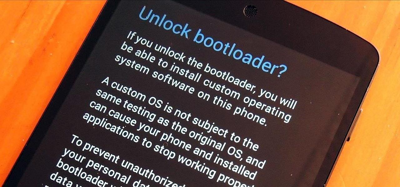 Nexus et OnePlus One, déverrouiller son bootloader facilement