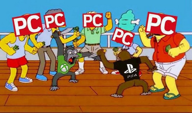 pc vs ps4 vs xbox