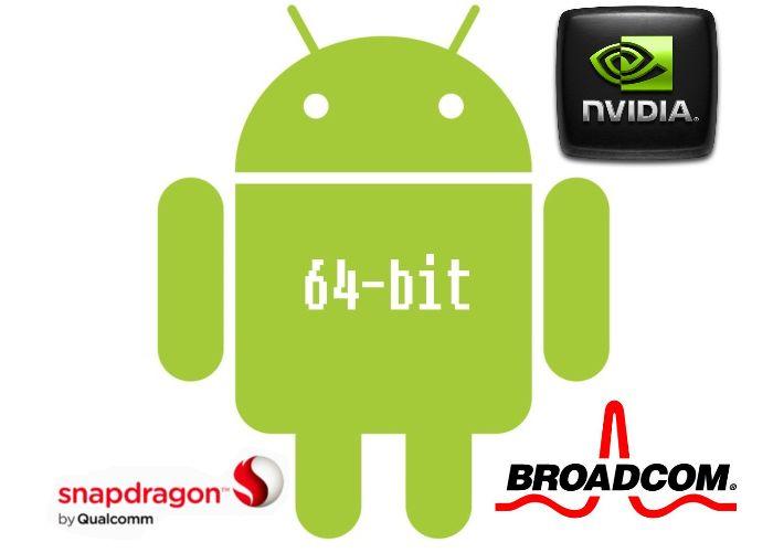qualcomm nvidia broadcom 64 bits
