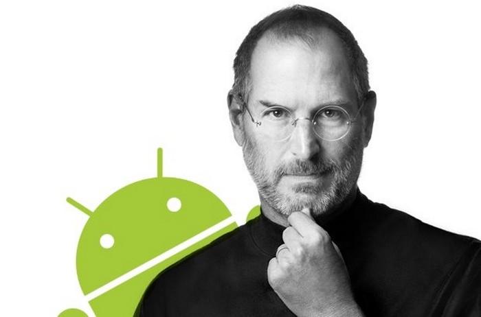 steve jobs android