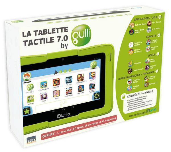 tablette gulli prix avis d 39 un jouet tactile pour enfant par kurio. Black Bedroom Furniture Sets. Home Design Ideas