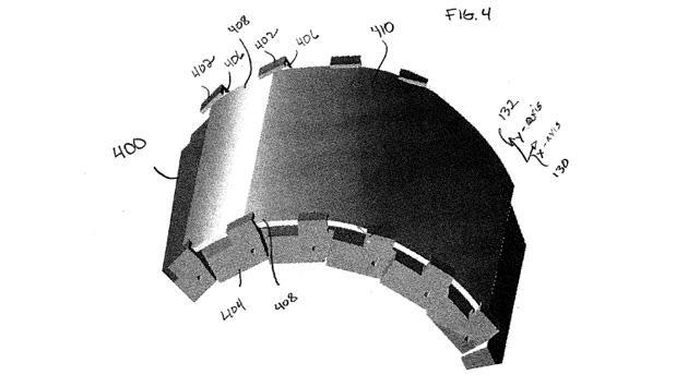 motorola montre flexible brevet
