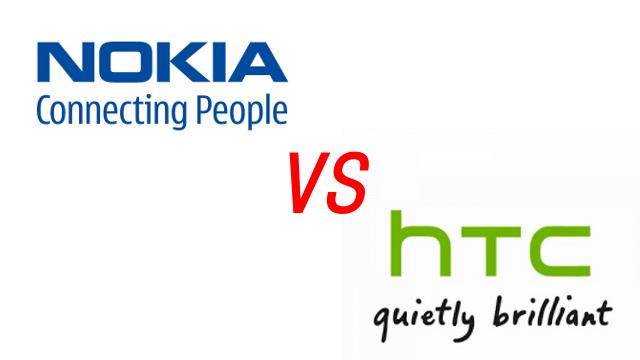 nokia vs HTC
