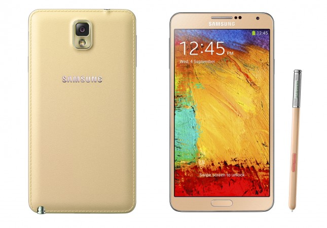 samsung galaxy note 3 or