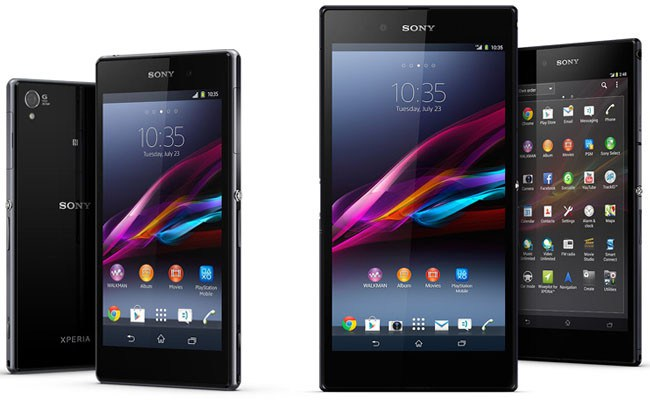 sony xperia z1 z ultra android 4.3