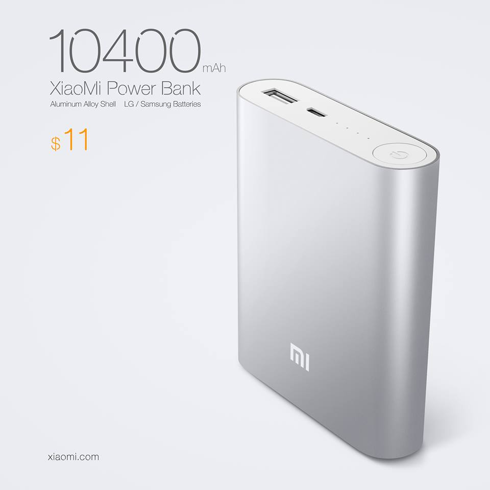 xiaomi batterie 10400