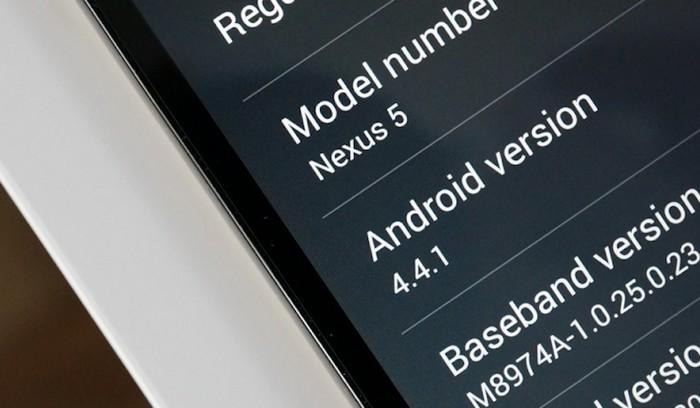 android 4.4.1 nexus
