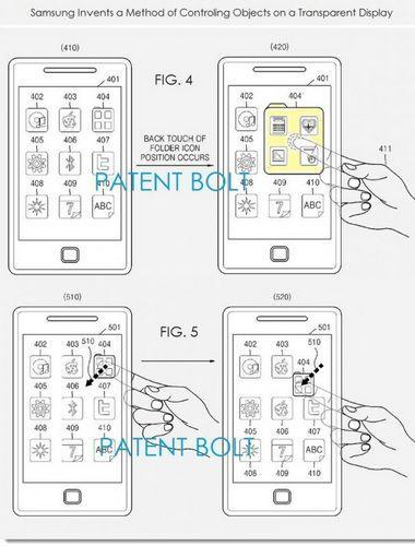 brevet samsung smartphone