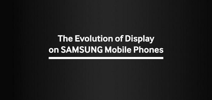 evolution ecran samsung