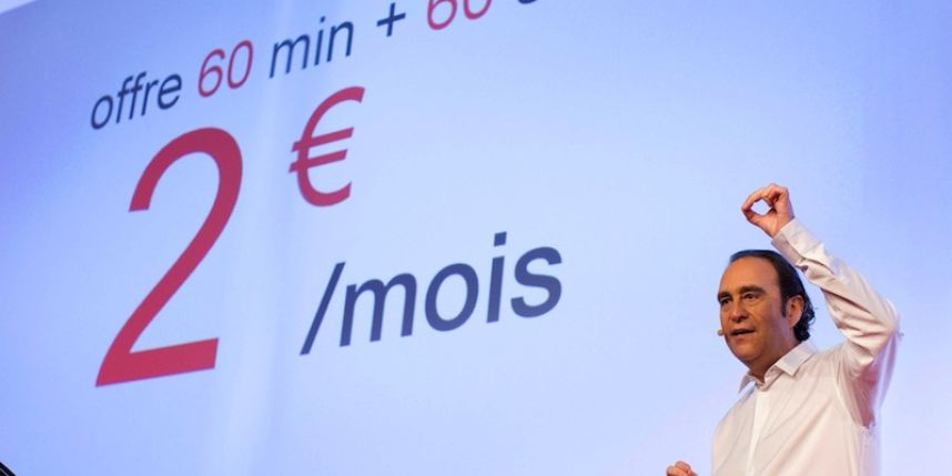 free forfait 2€ 4G