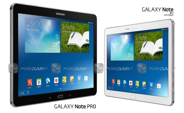 galaxy note pro note 10.1