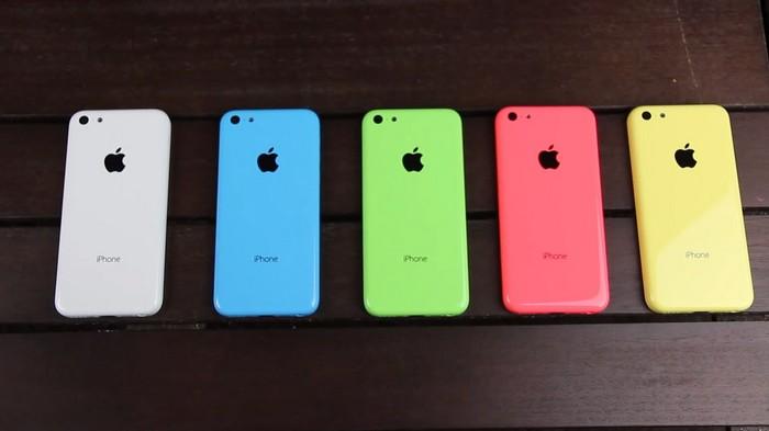 iphone 5c succès