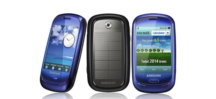 samsung smartphone solaire