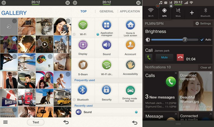 tizen interface