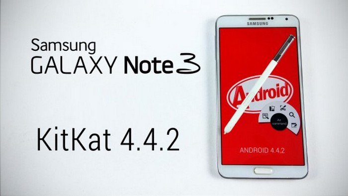 galaxy note 3 kitkat
