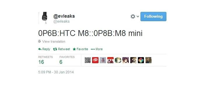 htc m8 mini leak