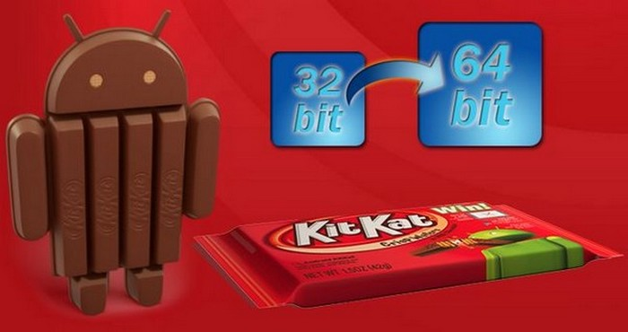 android kitkat 64bit intel