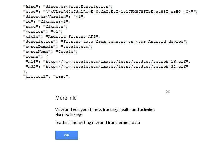api google fitness
