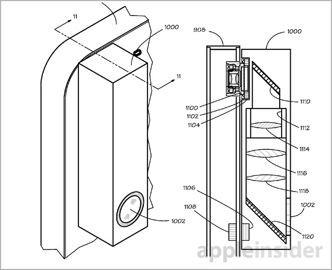 apple brevet camera