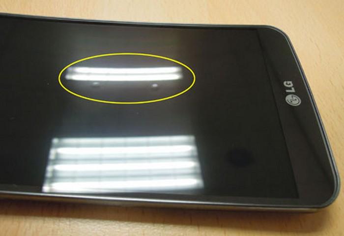 bosse écran LG G Flex