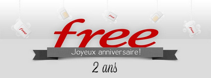 free mobile 2 ans