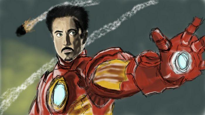 galaxy note iron man stylet