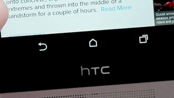 htc m8 boutons tactiles