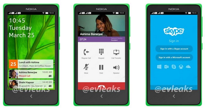 nokia normandy interface
