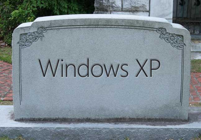 pc windows xp vulnérables