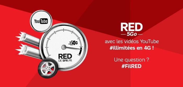 SFR youtube illimité