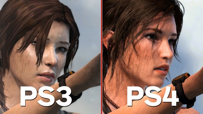 tomb raider ps3 vs ps4