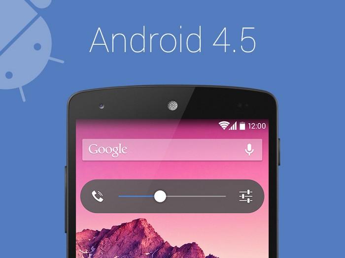 Android 4.5 Nexus 8