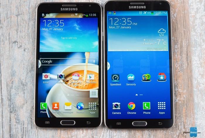 Galaxy Note 3 Neo vs Note 3